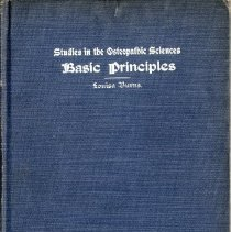 Image of 2004.85 - Studies in the Osteopathic Sciences Basic Principles Vol. 1