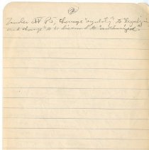 Image of Editing notes, George Malcolm McCole