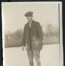 Image of 2011.86 - Photograph of Man in Ice Skates