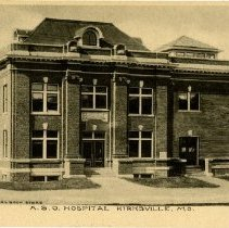 Image of 1985.1052 - American School of Osteopathy Hospital