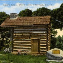 Image of 1983.882 - Andrew Taylor Still's Cabin