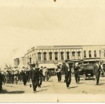 Image of 2006.73 - RPPC State Normal School Band Parade