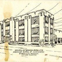 Image of 1983.805 - Laboratory and Gymnasium Sketch