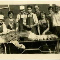 Image of 1992.1546 - Dissection Class Outdoors