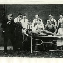 Image of 2010.02 - American School of Osteopathy Dissection Class
