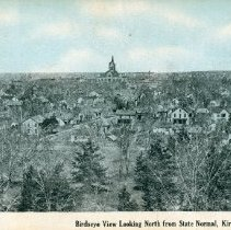 Image of 2012.12 - Birdseye View Looking North from State Normal, Kirksville, MO