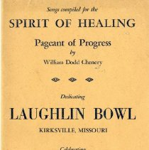 Image of 2008.33 - Songs Compiled for the Spirit of Healing Pageant of Progress
