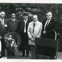 Image of 2012.19 - A.T. Still's Gravesite during Founders Day 1992