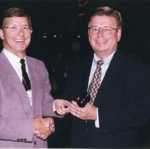 Image of 2012.19 - Gavel Presentation to Dean L. Colwell