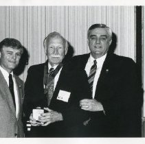 Image of 2012.19 - Donald McBride Receives Medallion at Founders Day 1992