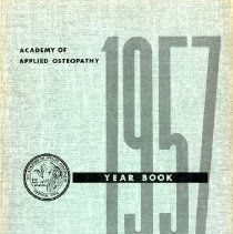 Image of 2011.97 - Academy of Applied Osteopathy 1957 Yearbook Selected Papers