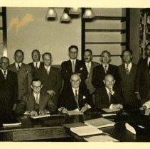 Image of 1976.155 - Board of Trustees Portrait 1949 Oct 4
