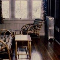 Image of 1980.385 - Porch of Anna R. Still Convalescent Home 1946 Oct 24