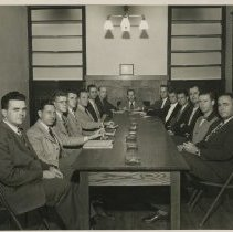 Image of 1983.821 - Kirksville College of Osteopathy & Surgery Student Council members 1947