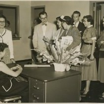 Image of 1983.821 - Kirksville College of Osteopathy & Surgery hospital open house 1952 May 18