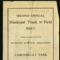 Image of 2001.36 - Second Annual Municipal Track and Field Meet