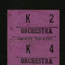 Image of 2001.36 - Orchestra Tickets