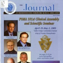 Image of 2012.44 - The Journal of the Pennsylvania Osteopathic Medical Association, Vol. 53, No. 1