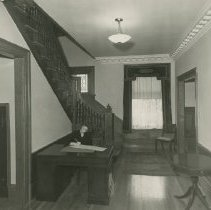 Image of Vivian Klein writing notes at Anna R. Still Convalescent Home