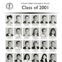 Image of 2012.62 - KCOM Freshman Composite Class of 2001