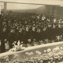 Image of 1985.1053 - Kirksville College of Osteopathic Medicine graduation ceremony