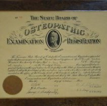 Image of 1988.30 - State Board of Osteopathic Examination and Registration