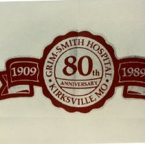 Image of 2004.10 - Grim Smith Hospital and Clinic 80th Anniversary Logo