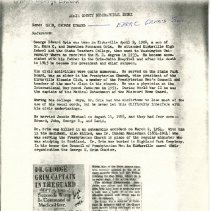 Image of Biographical information on Edward & Ezra Grim and Edward S. Smith