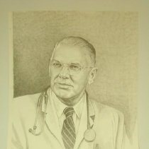 Image of 2008.19 - Benjamin S. Jolly pencil drawing portrait