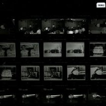 Image of 2004.10 - Contact sheet of Grim-Smith Hospital buildings and people