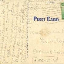 Image of Letter on back of Grim-Smith Hospital postcard 1944 Jun 12