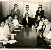 Image of 1992.1542 - Kirksville College of Osteopathic Medicine personnel group photo