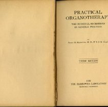 Image of Practical Organotherapy