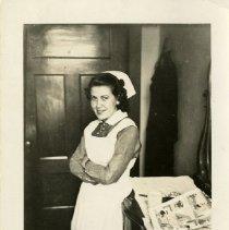 Image of 2007.63 - Josephine Elizabeth Rouner in nurses' uniform at American School of Osteopathy Hospital
