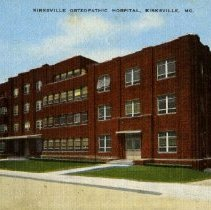 Image of 2007.63 - Kirksville Osteopathic Hospital building