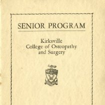 Image of KCOS Senior Program 1943 Feb
