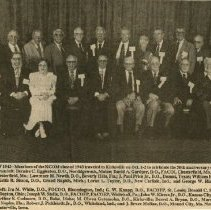 Image of Kirksville College of Osteopathic Medicine Class of 1943 50th reunion
