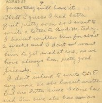 Image of Page nine of letter from Pickhardt to aunt 1909 Nov 14