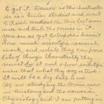 Image of Page six of letter from Pickhardt to aunt 1909 Nov 14