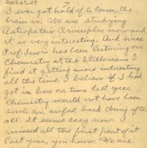 Image of Page seven of letter from Pickhardt to aunt 1909 Nov 14