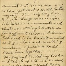 Image of Page four of Letter from Pickhardt Sr. to aunt 1910 Sep 16