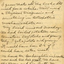 Image of Page six of Letter from Pickhardt Sr. to aunt 1910 Sep 16