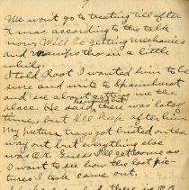 Image of Page seven of Letter from Pickhardt Sr. to aunt 1910 Sep 16