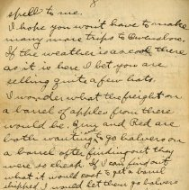 Image of Page eight of Letter from Pickhardt Sr. to aunt 1910 Sep 16