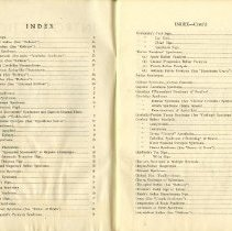 Image of Pages one and two of index of Syndromes & Signs