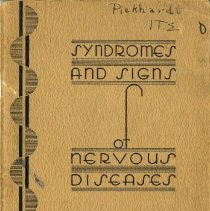 Image of Syndromes & Signs of nervous diseases cover