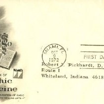 Image of Envelope from Wyeth Lab to Pickhardt Jr. 1972 Oct 9