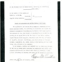 Image of 2008.84 - Photocopy of Order to compromise and Settle Federal Income Tax