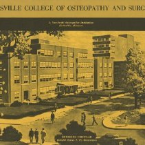Image of 1976.181 - Kirksville College of Osteopathy and Surgery Offering Circular