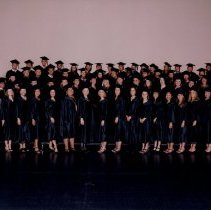 Image of 2004.251 - Arizona School of Health Sciences Physician Assistant Studies graduation group photo